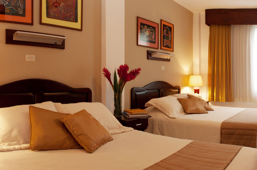 Bedroom of Apartment E at Hotel y apartaments La Sabana